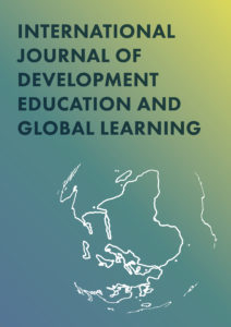 cover image for International Journal of Development Education and Global Learning