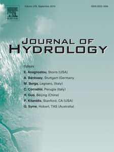 cover image for the Journal of Hydrology